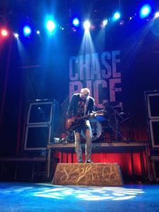 Chase at the Georgia Theatre on September 17, 2014 :)